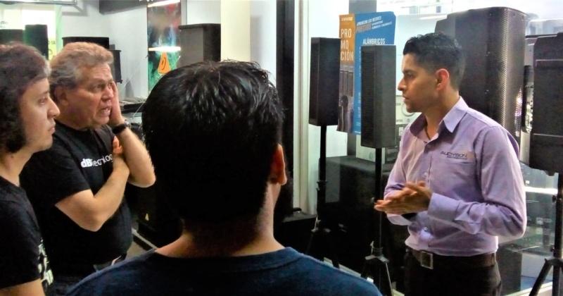 Capacitaciones de Electro – Voice y Sennheiser en Guadalajara