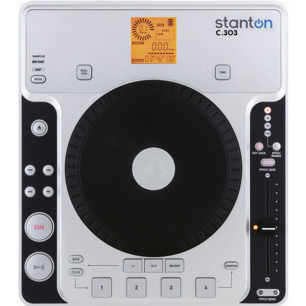 REPRODUCTOR STANTON CD SENCILLO C.303