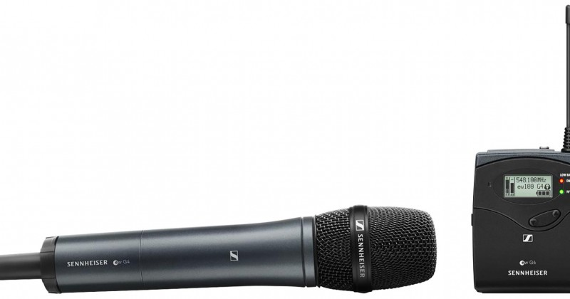 SET VOCAL SENNHEISER PORTABLE SERIE G4
