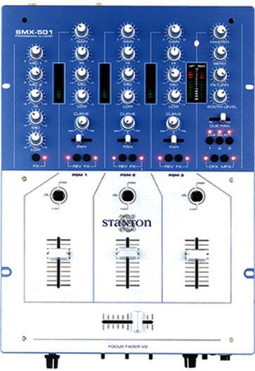 MEZCLADORA STANTON P/DISC-JOCKEY SMX-501